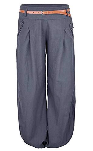 LITTHING Pantaloni Grey LITTHING Donna Donna Grey Pantaloni U4wx5Fq