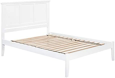 Atlantic Furniture Madison Platform Bed, King, White