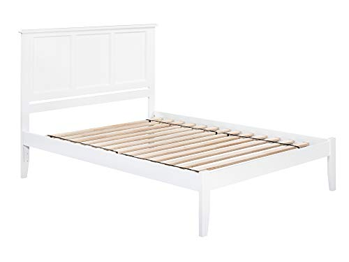 Atlantic Furniture AR8651002 Madison Platform Bed, King, Whi