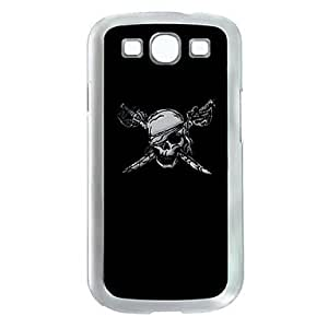Pirate Skull Pattern LED Lighting Hard Case with Retail Box for Samsung Galaxy S3 I9300