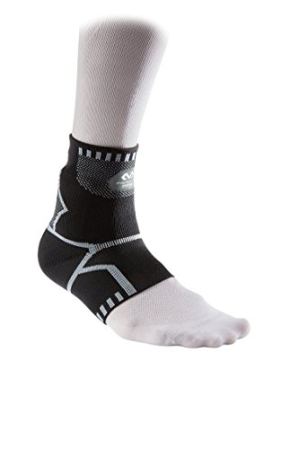 McDavid Custom Recovery Cold Pack Elastic Ankle Sleeve Compression Wrap with Reusable Ice Packs to Reduce Swelling -