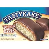 Tastykake Peanut Butter Kandy Kakes - Four Family Packs