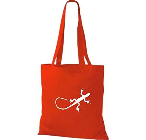 Shirtinstyle Red Bright Para Bolso Mujer Algodón Tela De 0z8vrq0