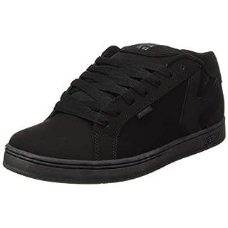 Etnies Mens Fader LS Shoes Footwear,Black Dirty Wash,13