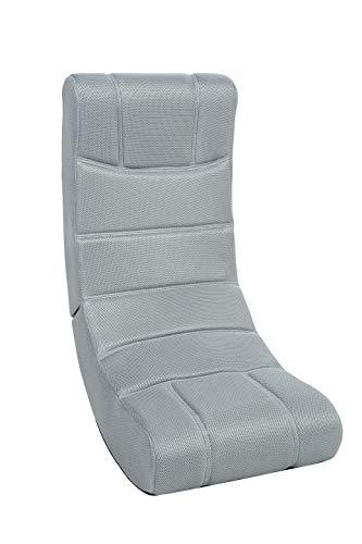 Imperial Ergonomic Grey Video Gaming Rocker Chair – Microfiber