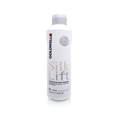 - Goldwell Silk Lift Conditioning Cream Developer - 3% / 10 Vol. 25.4 oz