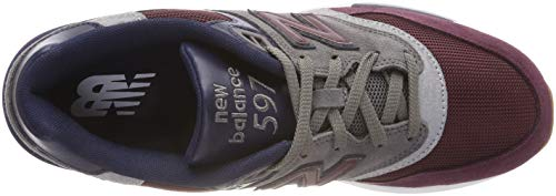 Rouge Baskets 597 castlerock New Burgundy Mode Balance nb pigment Bgn wS4wqv