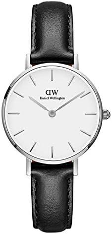 Daniel Wellington Petite Sheffield Watch, Italian Black Leather Band