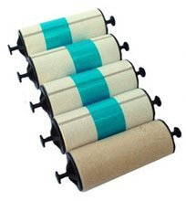 Zebra 105912-003 ADHESIVE CLEANING ROLLER KIT SET/5 FOR P310/320/330/420/520/720 ()