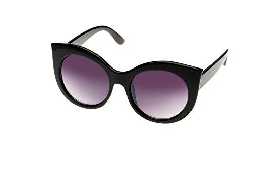 Verres Vintage Dégradés Noir Soleil Lunettes Eye de Cat qX1Hwp
