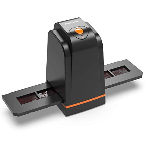 135 Film Slide Scanner Converts Negative,Slide&Film to Digital Photo,Supports MAC/ Windows XP/Vista/ 7/8/10 (Renewed)