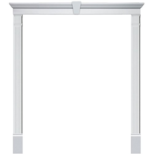 "Fypon DSKS28F9612K Single Door Surround Kit with 96""W x 1..."
