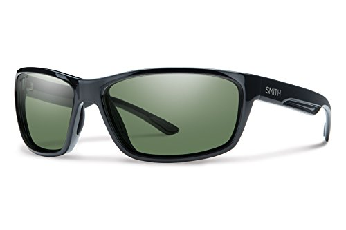 - Smith Optics Redmond Chromapop+ Polarized Sunglasses, Black, Gray Green Lens, One Size (Pack of 5)