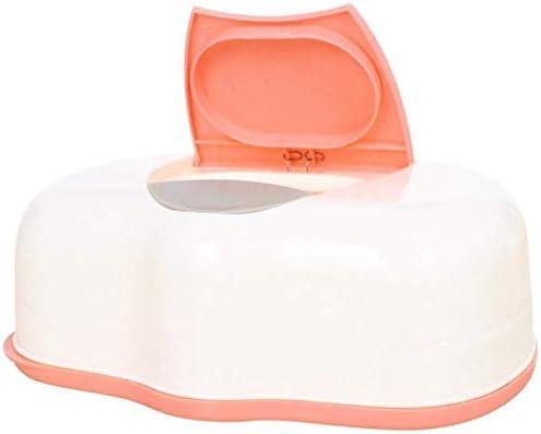 Yun-hangbaihuodian Tissu b/éb/é lingettes Cas Bo/îte en Plastique Tissu Humide Automatique de Cas de Soins Accessoires de Presse Pop-Up Design Couleur al/éatoire Porte-Tissus Mode