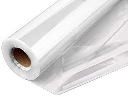 Adorox 16 X 100 Ft Long Clear Cellophane Wrap Roll Gifts Baskets Arts /& Crafts Treats Wrapping