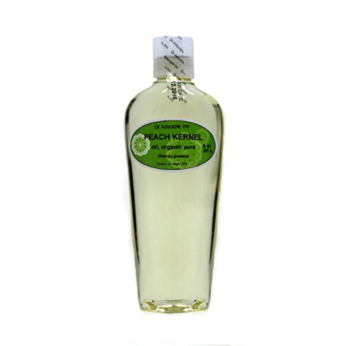 Premium Peach Kernel Oil 100% Pure Organic 8 Oz ()