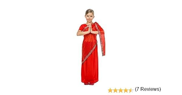 Disfraz de Bailarina Bollywood para niña: Amazon.es: Juguetes y juegos