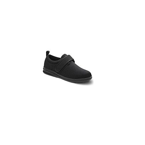 Bell-horn Amery Para Mujer Diabético Terapéutico Extra Profundidad Zapato Lycra Superior Negro