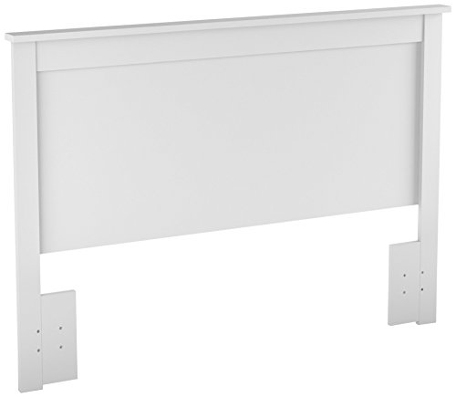 (South Shore Vito Headboard Full/Queen , 54/60-Inch, Pure White)