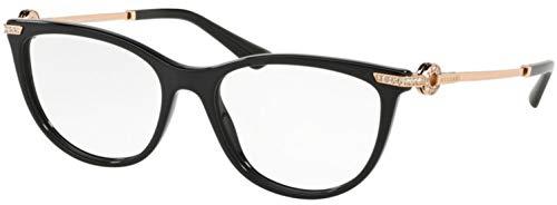Bvlgari Women's BV4155B Eyeglasses Black 54mm
