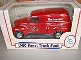 1950 Panel Truck Bank Budweiser Clydesdale Official Horseshoer
