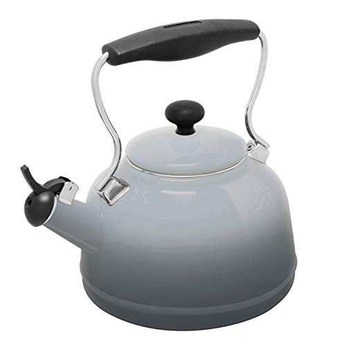 Chantal 37-LAKE-OM FG Teakettle Tea Kettle, 1.7 Qt, Faded Gr