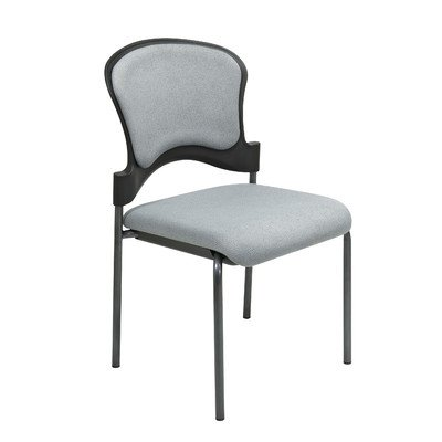 Pro-Line II Series Armless Visitor's Stacking Chair Seat Finish: Ember FreeFlex