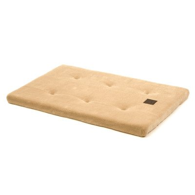 nooZZy Mattress 41 in. x 26 in. Tan Baby Terry (Snoozzy Pet Bed Plush)