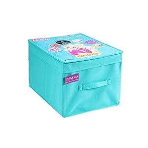 PrettyKrafts Barbie Organizer (Standard, Blue)