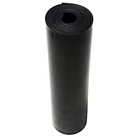 36 Length 0.062 Thickness 6 Width 70A Durometer Smooth Finish 33-P007-062-006-036 General Purpose Rubber Black Adhesive Backed