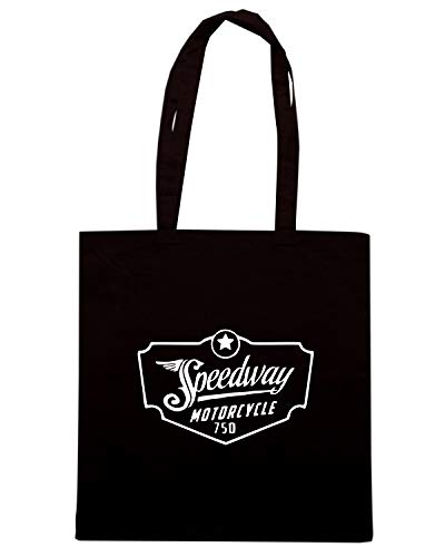 Speed Borsa Shirt SPEEDWAY TB0334 Shopper Nera qPwRq7xar0