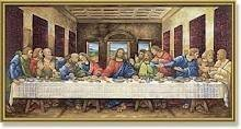 The Last Supper Oil Paint By Numbers