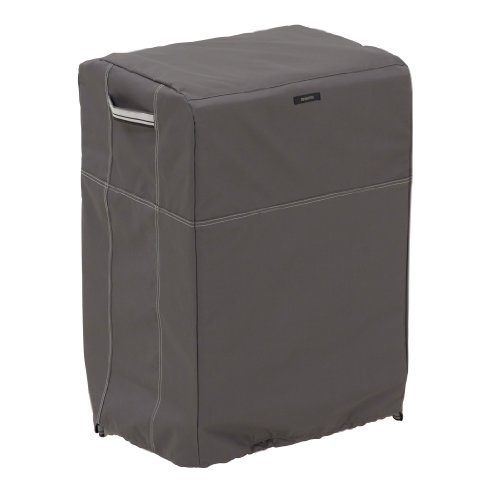 Classic Accessories 55-852-045101-EC Ravenna Square Smoker Cover, Large (Durable Furniture Fabrics)