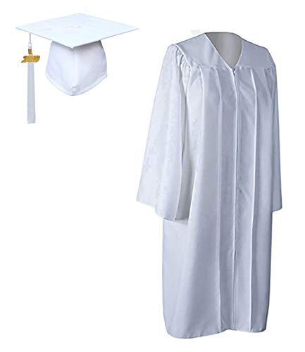 GraduationForYou Matte Graduation Gown Cap Tassel With 2018+2019 Year -