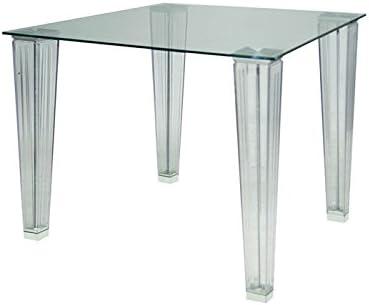 Momma Mesa MARTINA-90, policarbonato, Cristal, 90x90 cms: Amazon ...