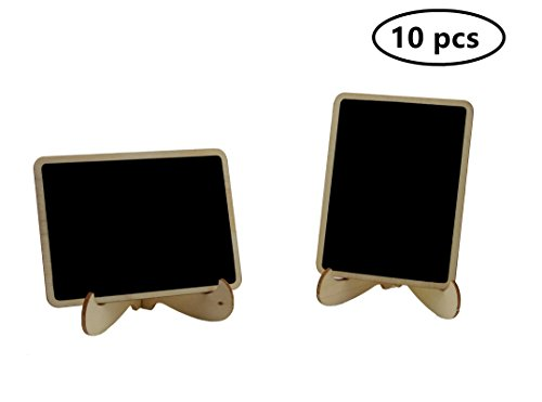 10 Pack Mini Chalkboard Signs W Stands For Weddings Parties Baby Showers & Event