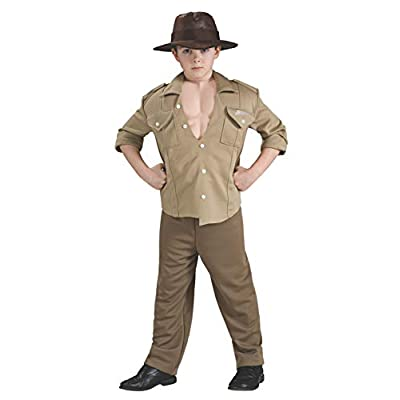 Deluxe Muscle Chest Indiana Jones Costume,Small 4-6: Toys & Games