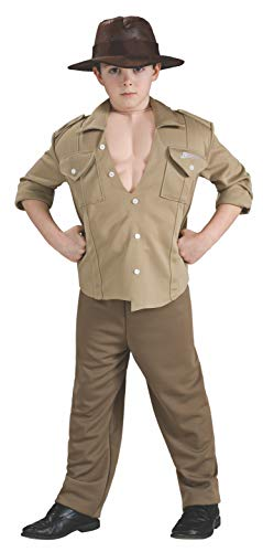 Indiana Jones and the Kingdom of the Crystal Skull Deluxe Muscle Chest Indiana Costume, Children's ()