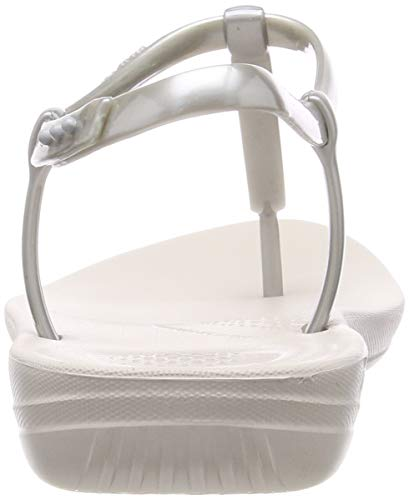 Donna Iqushion Argento 011 Infradito Splash silver Fitflop pearlised Metallic xYvdXyqC