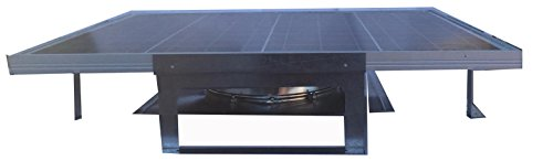 Amtrak Solar 70 Watt Most Powerful Roof Top Solar Attic Fan by Amtrak Solar