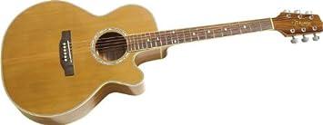 Takamine G Series eg544sc-4 C NEX KOA Guitarra Eléctrica y Acústica, natural