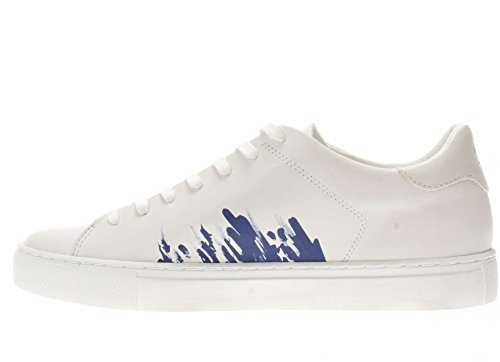 Crime London 11260S17B Sneakers Hombre BIANCO 41