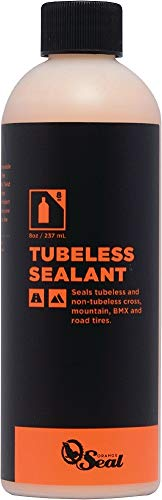 (Orange Seal Cycling Tubeless Tire Sealant Refill, 8 oz)