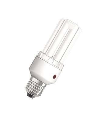 Osram Dulux EL Sensor - Bombilla de bajo consumo con sensor automático (E27, 15 W)