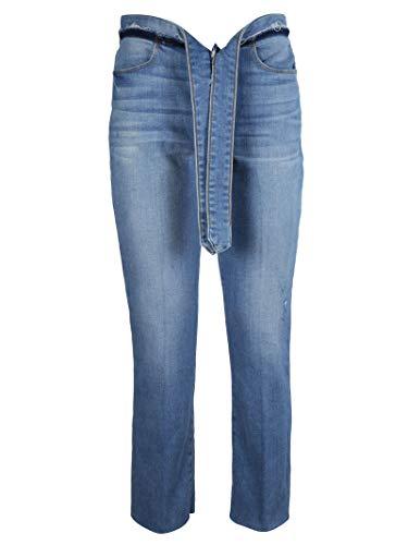 LHSTRWT838 Jeans FRAME Coton Bleu Femme qAfg8Hx