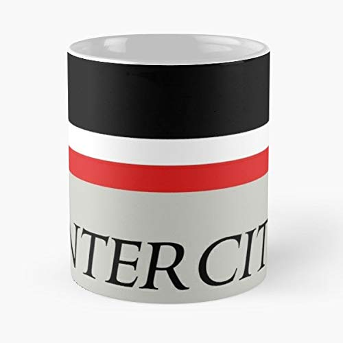 Intercity British Rail Railroad Railways - 11oz Novetly Ceramic Cups, Unique Birthday And Holiday Gifts For Mom Mother Wife Women.