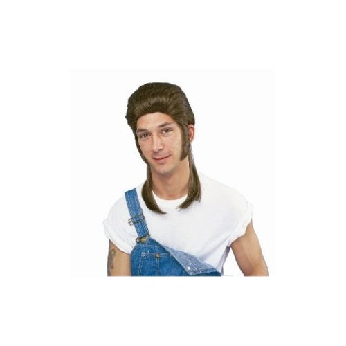 Mullet Wig Costume Accessory -