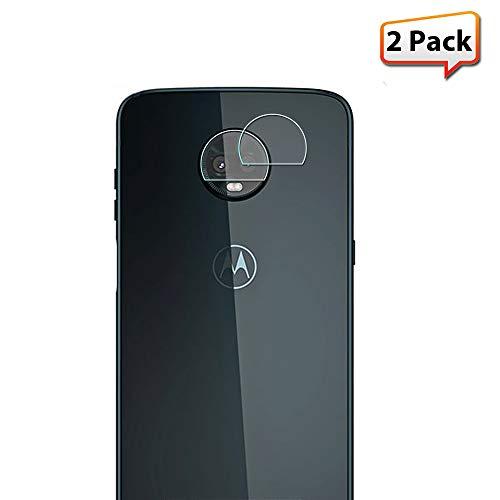 Zeking [2-Pack] Moto Z3 Play Camera Lens Tempered Glass Screen Protector, Zeking 0.33mm 2.5D Edge 9H Hardness [Anti Scratch][Anti-Fingerprint] Bubble Free