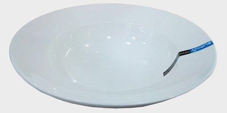 Super White Porcelain Deep Pasta Bowl (6 count) (16 OZ) (Deep Pasta Bowl)