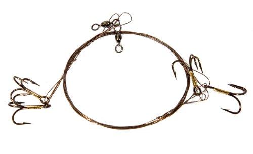 Boone Live Bait Rig 2 # 4 Treble Hook (Pack of 2)